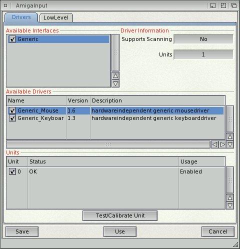 Amiga Input.