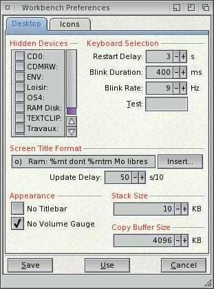 Définition de la taille du buffer de copie (Copy Buffer Size)