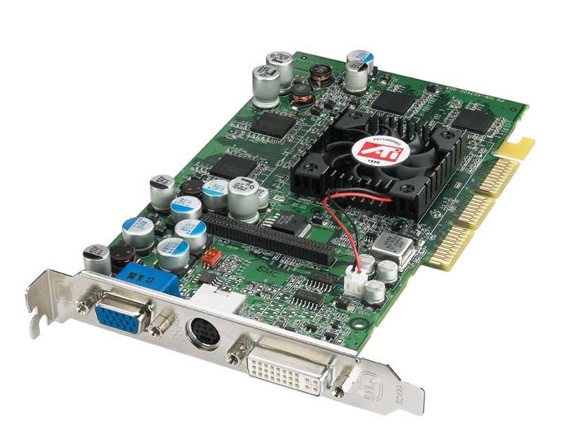 ATI Radeon 9600 Pro.