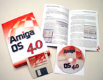 AmigaOS 4.0, Le packaging.